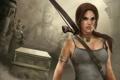 Картинка лук, Tomb Raider, Lara Croft, Лара Крофт, храм