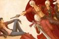 Картинка оружие, guns, sword, герои, приколы, Dante, heroes