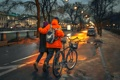 Картинка велосипед, пара, Санкт-Петербург, прогулка