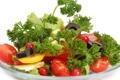 Картинка лук, olive, lemon, cалат, маслины, зелень, tomato
