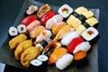 Картинка суши, роллы, морепродукты
