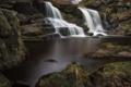 Картинка природа, камни, водопад, мох, Goathland