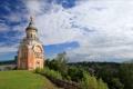 Картинка храм, Родина, Торжок, Борисоглебский монастырь