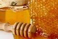 Картинка капли, соты, мед, ложка, банка, сладости, мёд