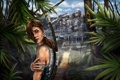 Картинка взгляд, Tomb Raider, девушкагород