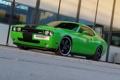 Картинка машина, зелёный, Dodge, Додж Челленджер