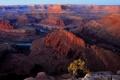 Картинка горы, природа, река, каньон, США
