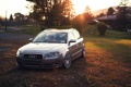 Картинка осень, солнце, Audi, ауди, универсал