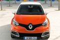 Картинка оранжевый, Renault, автомобиль, вид спереди, Captur