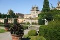 Картинка город, фото, Англия, кусты, дворец, Blenheim