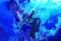 Картинка море, девушка, радость, пузыри, оружие, art, kantai collection