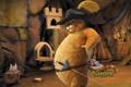 Картинка мультфильм, толстый, кошак, шрек 4