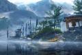Картинка деревья, горы, озеро, Far Cry 4