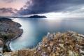 Картинка природа, пейзаж, небо, море