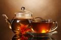 Картинка чай, кружка, напиток, заварник