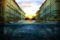 Картинка вода, город, настроение, ситуация, утро, A new morning