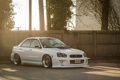 Картинка Subaru, белая, white, wrx, impreza, субару, sti
