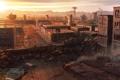 Картинка concept art, город, city, fallout new vegas, strip, игра, game