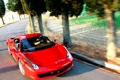Картинка вираж, Ferrari, italia