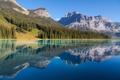 Картинка лес, горы, природа, озеро, река