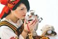 Картинка девушка, чай, фотограф, girl, photography, photographer, Elena Umrihina