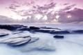 Картинка море, небо, вода, облака, природа, камни, фото