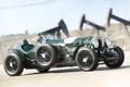 Картинка ретро, фон, Bentley, Бентли, зелёный, спорткар, Special