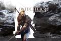 Картинка Andrzej Sapkowski, Анджей Сапковский, The Witcher 3: Wild Hunt, Geralt z Rivii, меч, CD Projekt ...