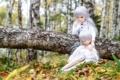 Картинка природа, волосы, девочки, игрушки, куклы, сиреневые