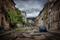 Картинка здания, Украина, авто, жигули, город, развалины, Одесса