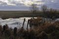 Картинка природа, пейзаж, река, мост, утро