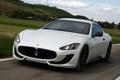 Картинка car, Maserati, white, GranTurismo, Sport, MC line