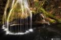 Картинка природа, лес, осень, водопад