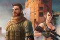 Картинка грудь, девушка, арт, снайпер, Metal Gear Solid, quiet, Konami