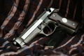 Картинка пистолет, самозарядный, Beretta 92FS