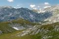 Картинка Небо, Фото, Горы, Трава, Скалы, Панорама, Камни