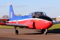 Картинка реактивный, британский, учебно-тренировочный самолёт, BAC Jet Provost