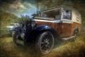 Картинка машина, стиль, фон, Austin Van 4