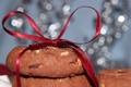 Картинка печенье, лента, бант
