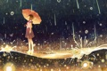 Картинка девушка, аниме, арт, upscale, gemi