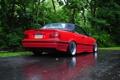 Картинка BMW, E36, тюнинг, кабриолет, cabrio, бмв, дождь