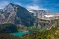 Картинка лес, небо, горы, озеро, Монтана, США, glacier national park