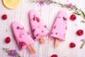 Картинка фруктовое, десерт, малина, ice cream, raspberry, мороженое