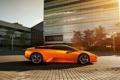 Картинка авто, здание, supercar, Lamborghini Murcielago, ламборгини