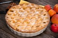 Картинка яблоки, пирог, выпечка, яблочный пирог