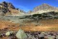 Картинка 2560x1600, камни, nature, sky, небо, облака, mountains