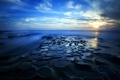 Картинка пейзаж, ночь, море