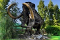Картинка природа, мех, мамонт, бивни