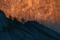 Картинка деревья, закат, горы, скалы