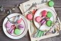 Картинка печенье, десерт, выпечка, сладкое, макаруны